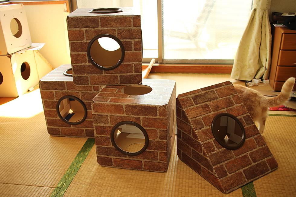 マリオブロック風ボックスはなんなく完成
